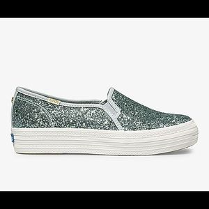 Keds/Kate Spade NY Triple Decker Glitter Shoes